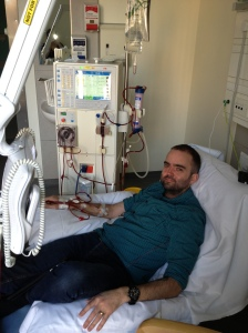 Home-dialysis training at the hospital