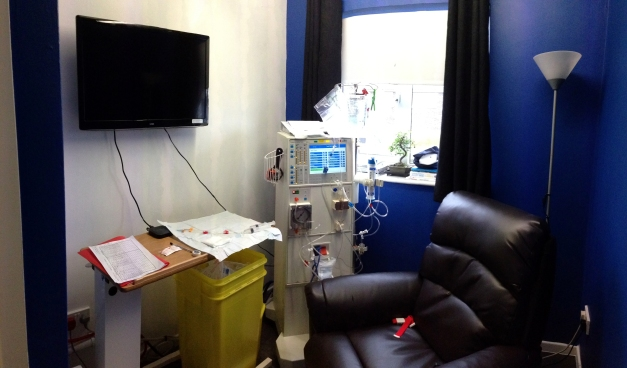 My home dialysis room